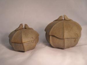 Covered Pot by Barbara Walch