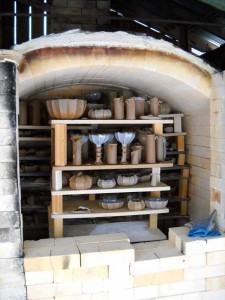 Kiln at Barbara Walch Pottery