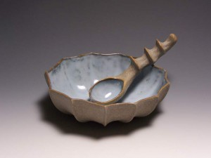 Bowl & Spoon by Barbara Walch