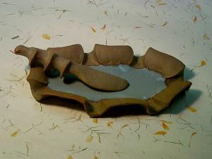 Small Plate & Spreader by Barbara Walch