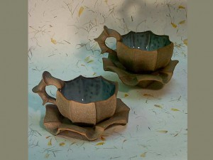 Tea Cup & Saucer by Barbara Walch Pottery