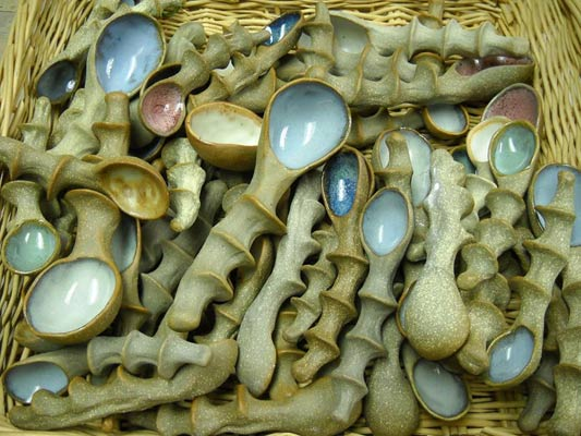 Spoons - Barbara Walch Pottery