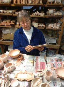 Barbara Walch at Work